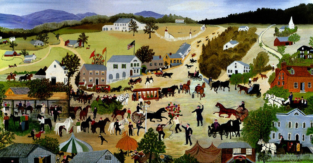 learn about folk art and some of the most famous outsider artists
