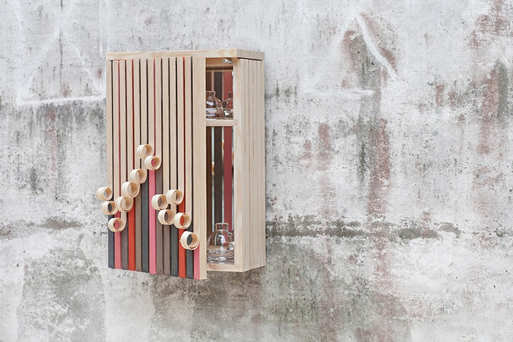 Whittle Away Cabinet by Stoft Studio