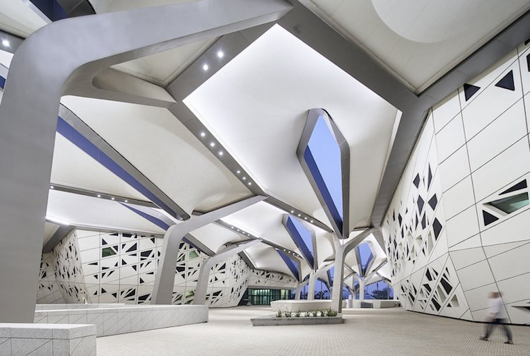 Zaha Hadid Architects Kapsarc In Riyadh Open To The Public