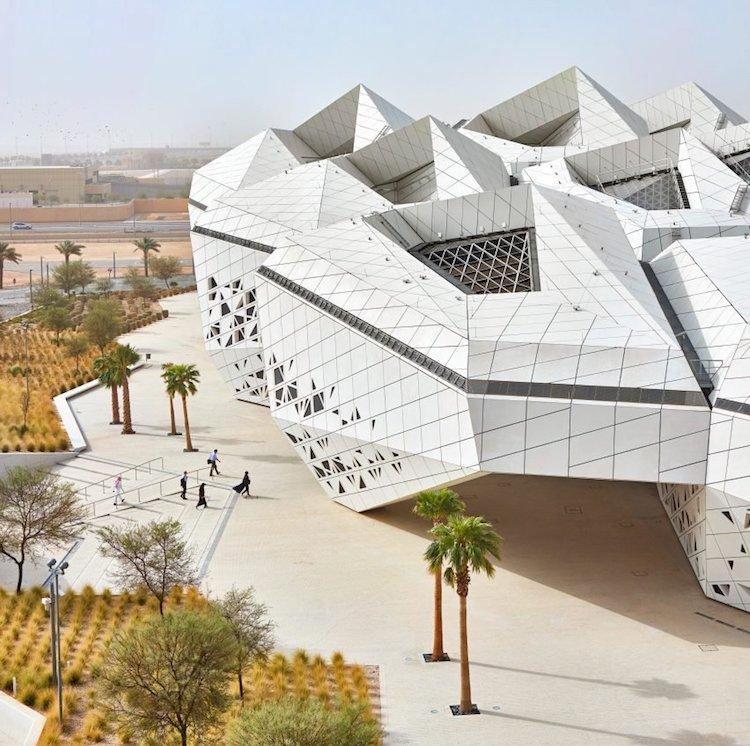 contemporary architecture in saudia arabia