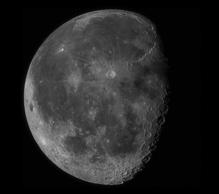 high resolution moon photograph Seán Doran