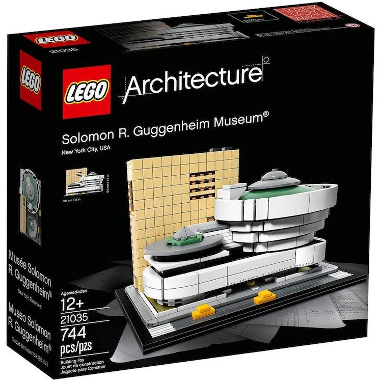 LEGO set guggenheim museum