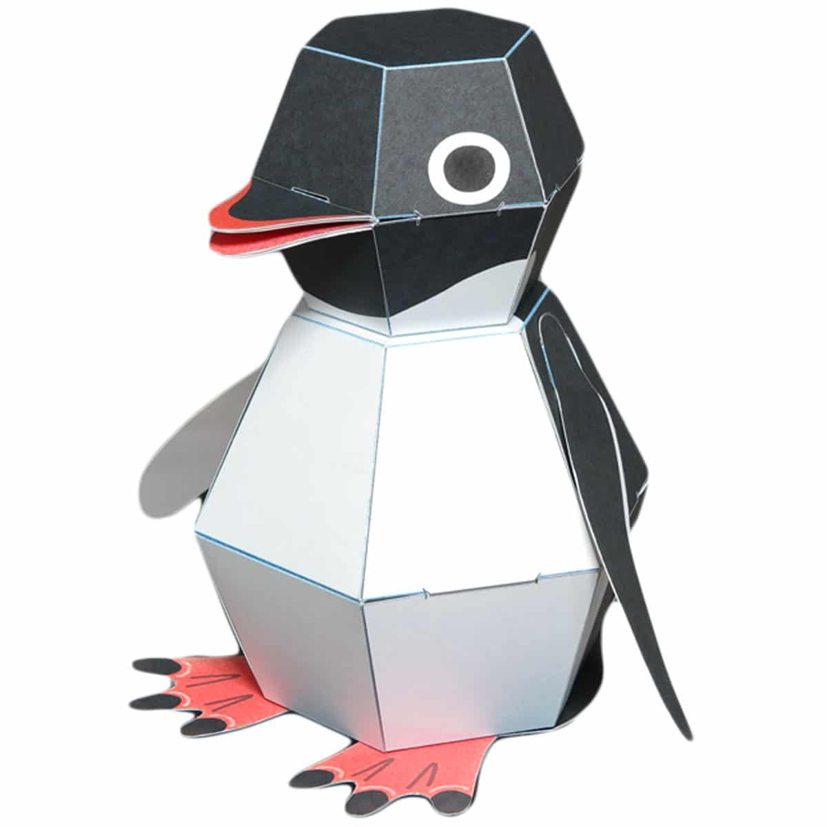 My Modern Met Store Launch Penguin Pop Papercraft