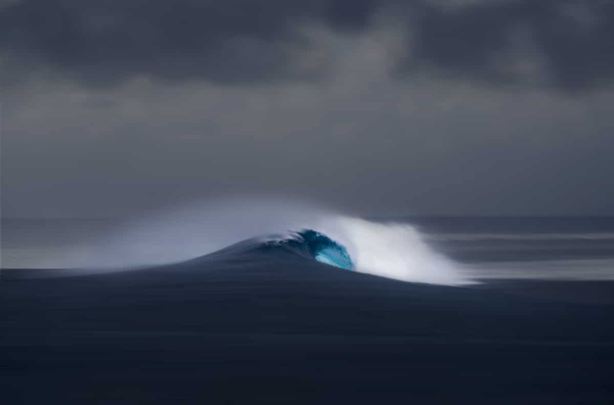 Wave photograph Richard Johnston