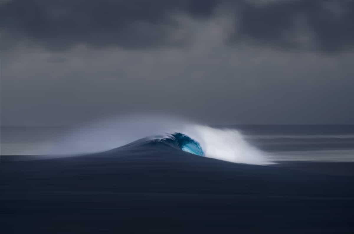 Wave photograph Richard Johnston