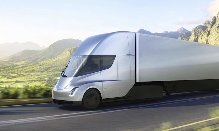 Tesla Semi Trucks Electric Transportation