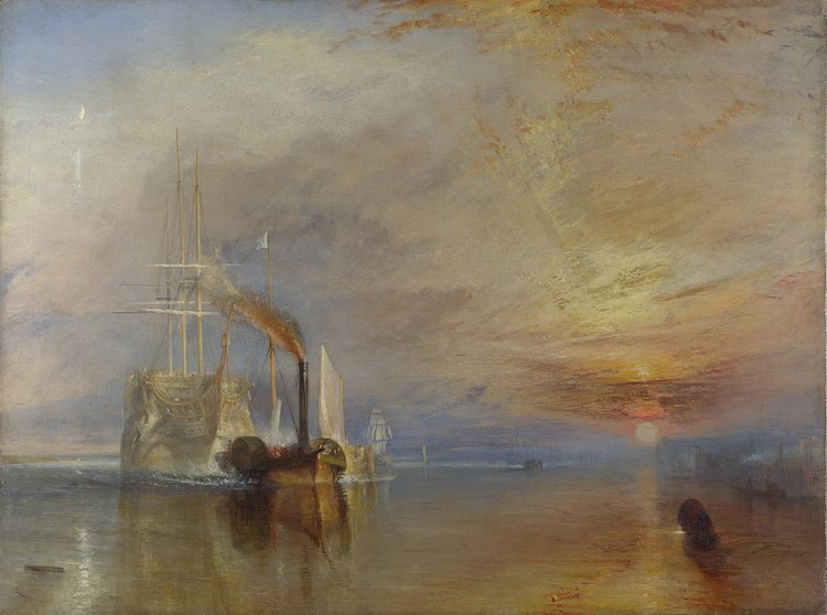 The Fighting Temeraire - JMW Turner