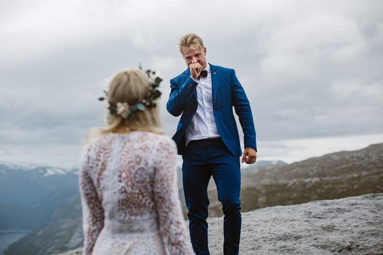 Wedding Portraits Trolltunga