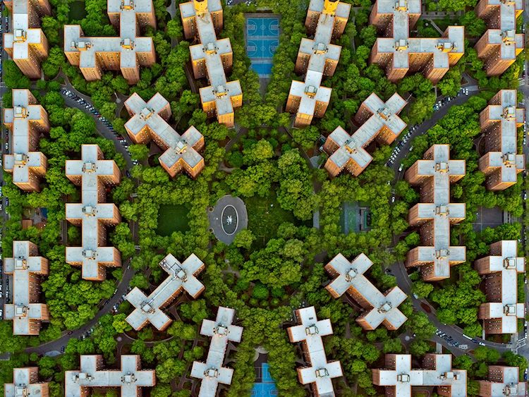 Aerial Photography by Jeffrey Milstein
