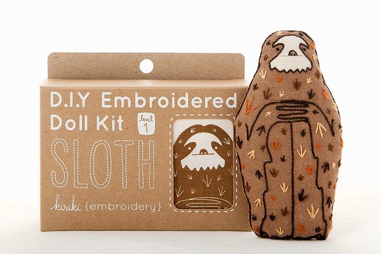 Animal Embroidery Doll Kits Kiriki Press