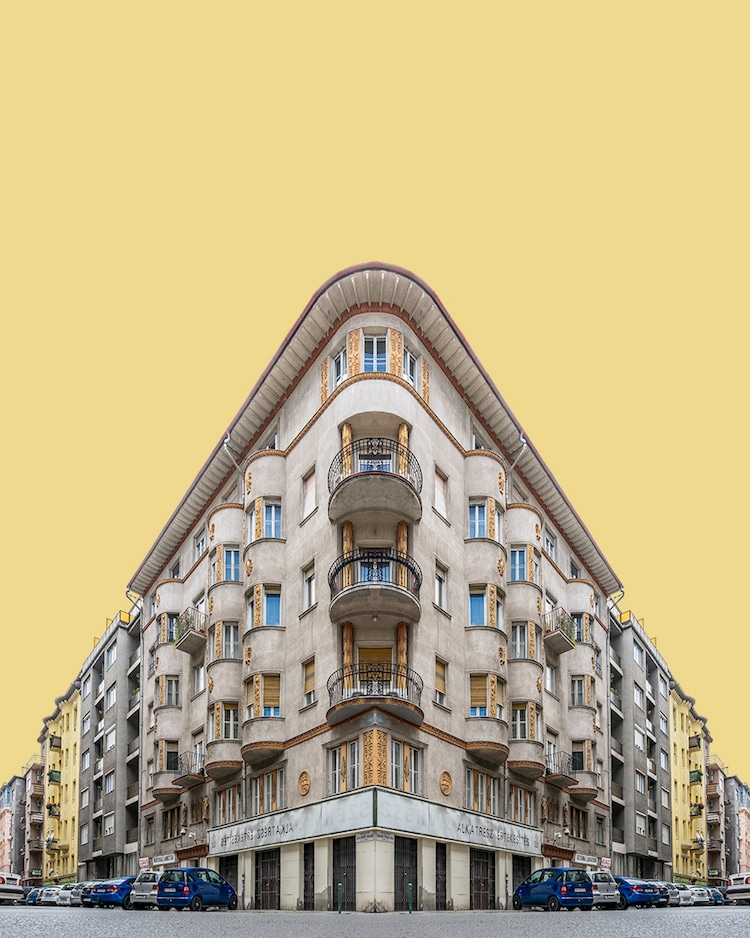 Digital Collage Architecture Photography