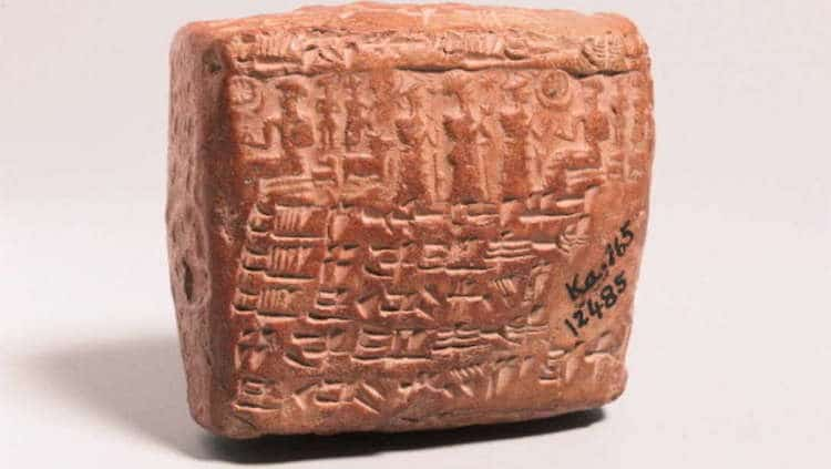 Assyrian Tablet ancient prenuptial agreement