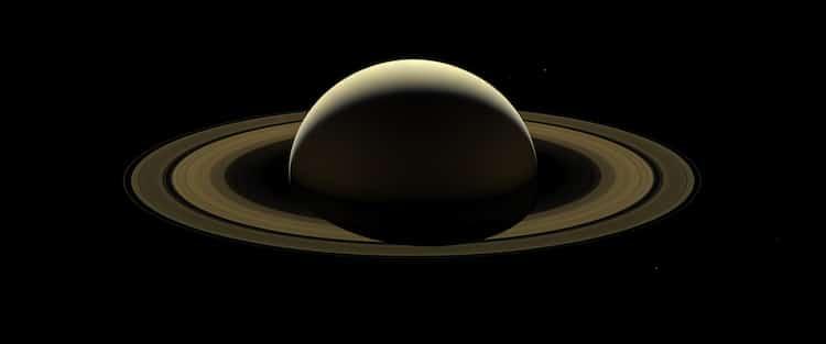 Cassini spacecraft Saturn