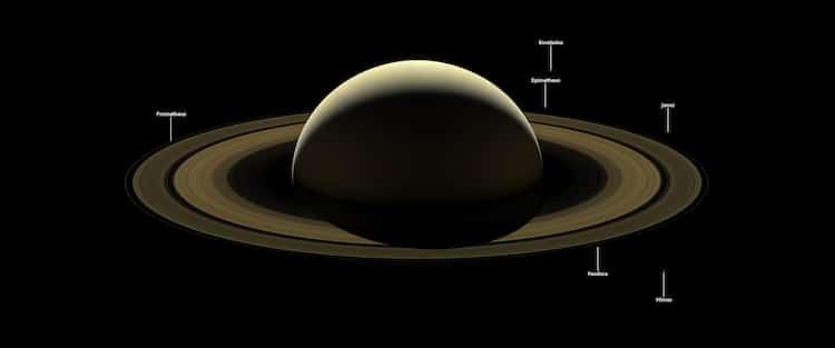Cassini's final Saturn photo