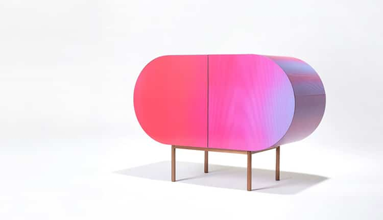 Design Studio Create Color Changing Furniture in Rainbow Hues