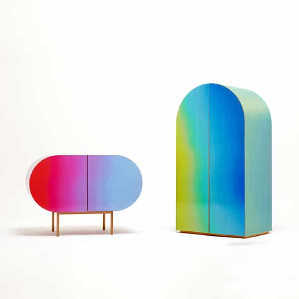 Creative bookshelves and unique bookcases that put a spin for Change furniture color