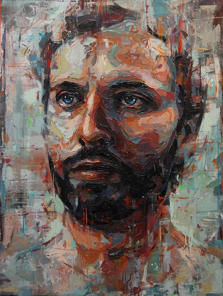 Contemporary Oil Painting Emotional Portraits by Joshua Miels