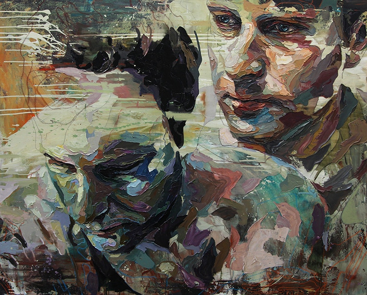 Modern Mirror Canvases: 'Self-Portraits by Contemporary ... |Modern Portrait Artists