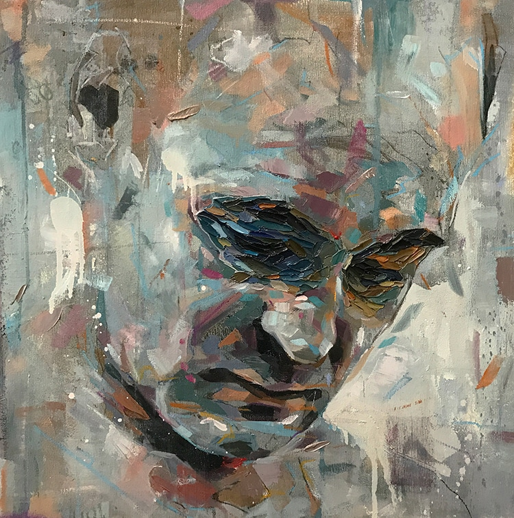 Contemporary Portraiture By Alan Coulson - Art People Gallery |Modern Portrait Artists