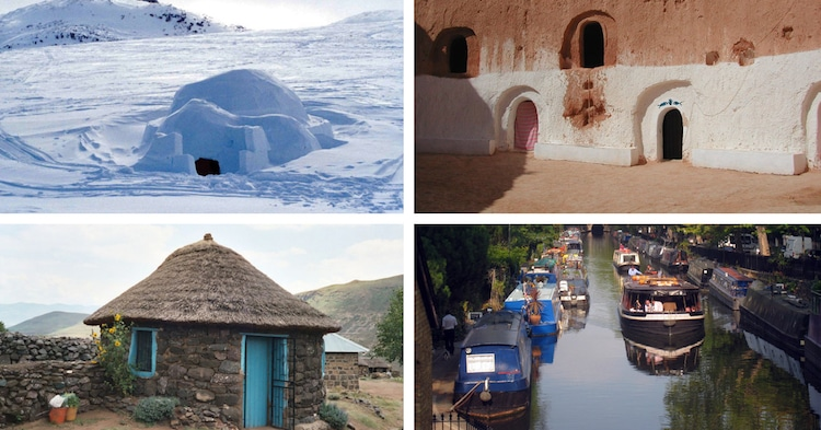 Different Types of Houses Around the World