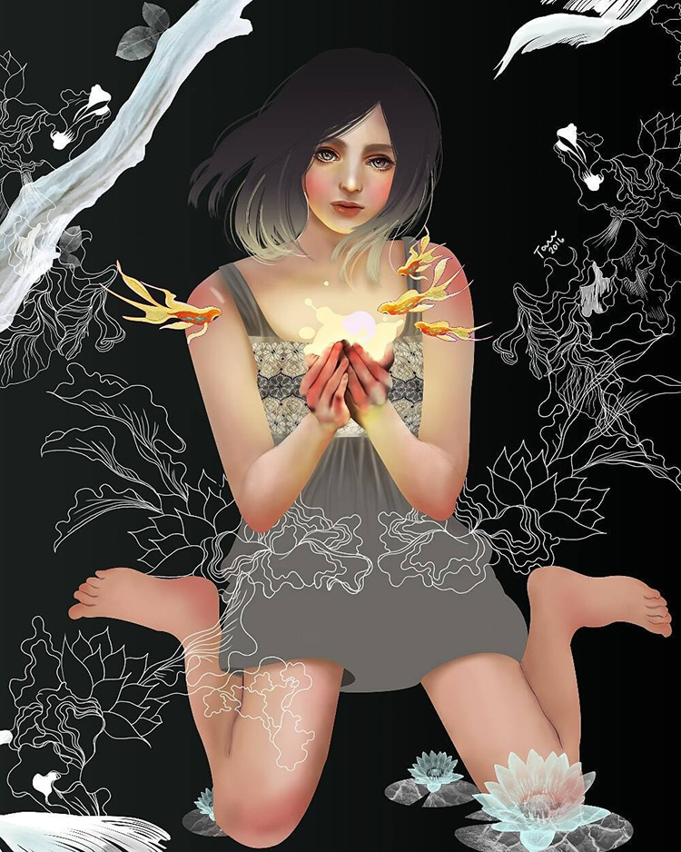 Enchanting Illustrations by Katrina Taule