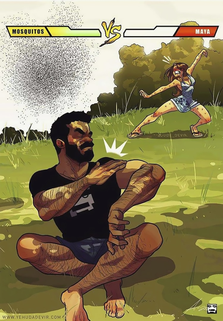 Funny Relationship Comics by Yehuda Devir