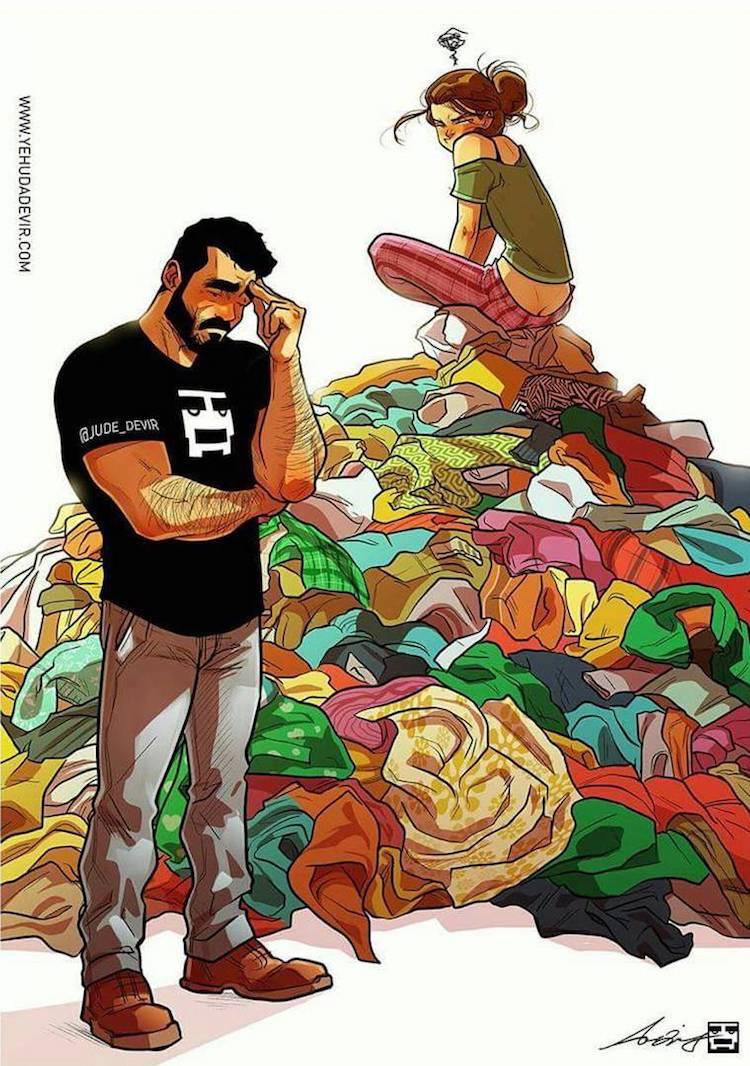 Funny Comics by Yehuda Devir