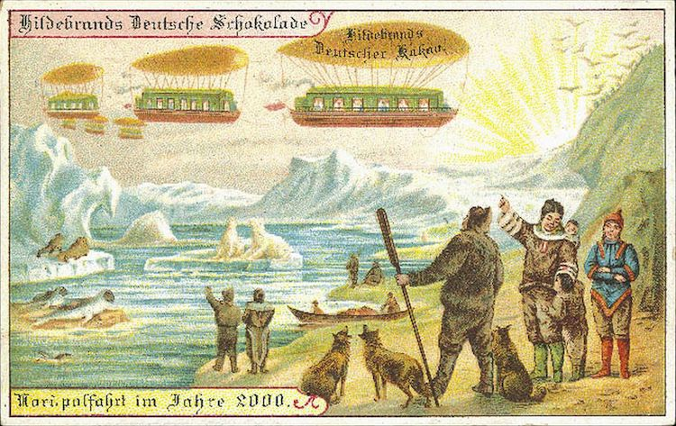 north pole excursion predicted in 1900
