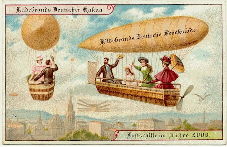 illustrations that predict the future for hildebrands