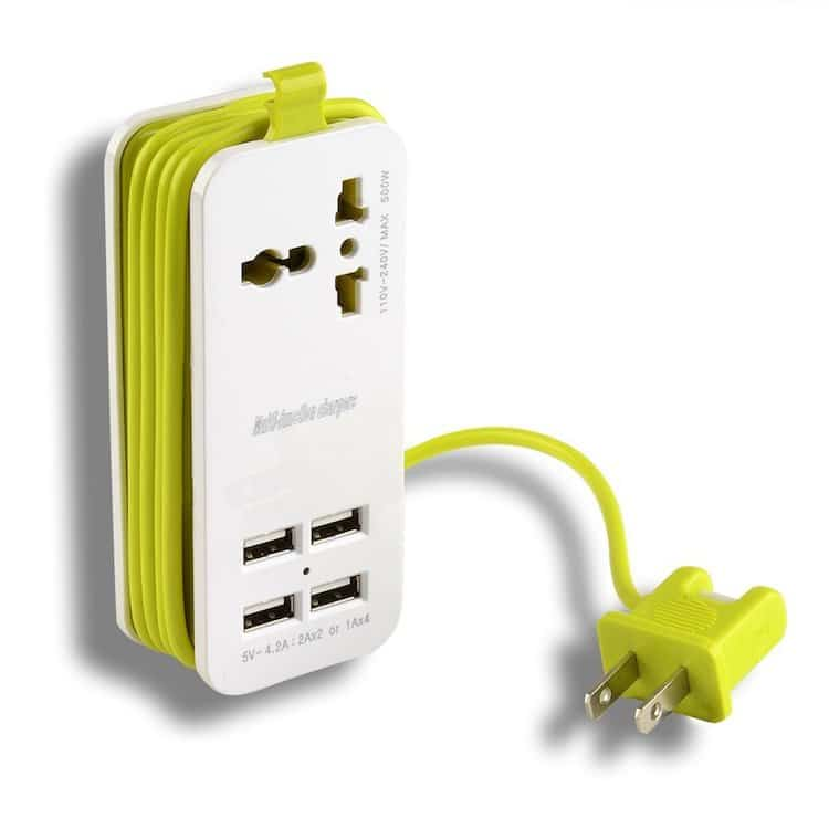 Holiday Gift Guide 2017 Universal Socket Travel Portable Power Strip