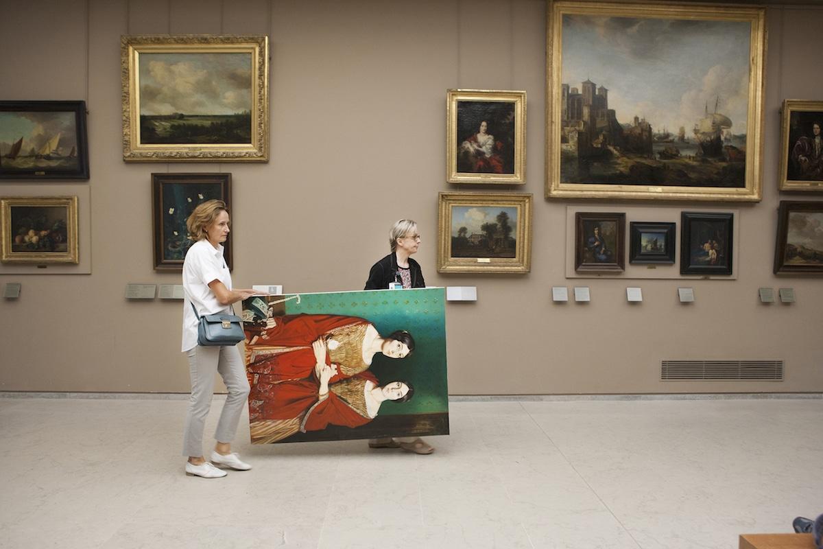 Louvre Copyists Ivan Guilbert