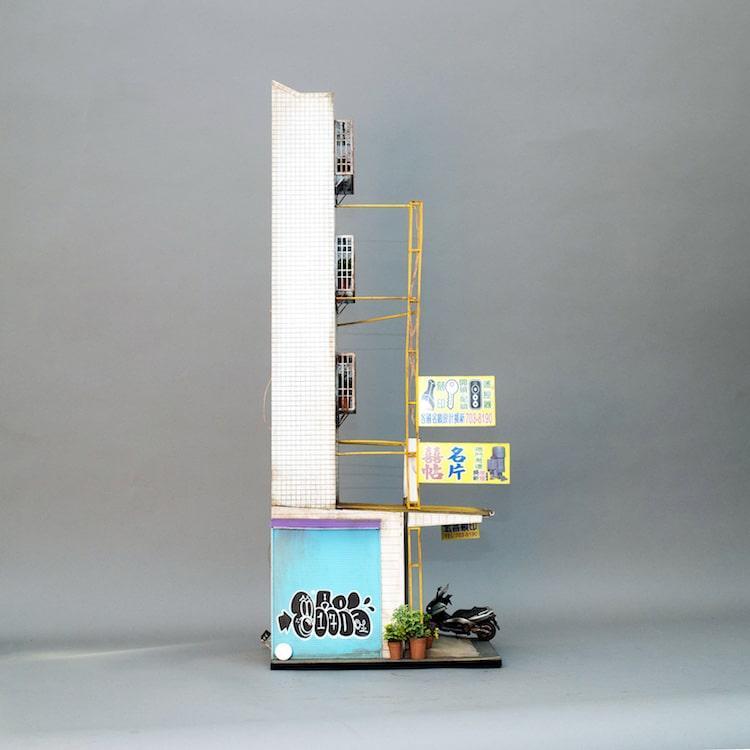 urban architecture scale model joshua smith