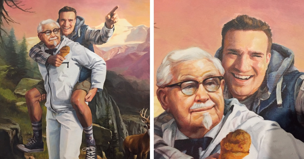 Funny Kfc People: KFC Rewards Clever Twitter User With Funny Advertisement Image