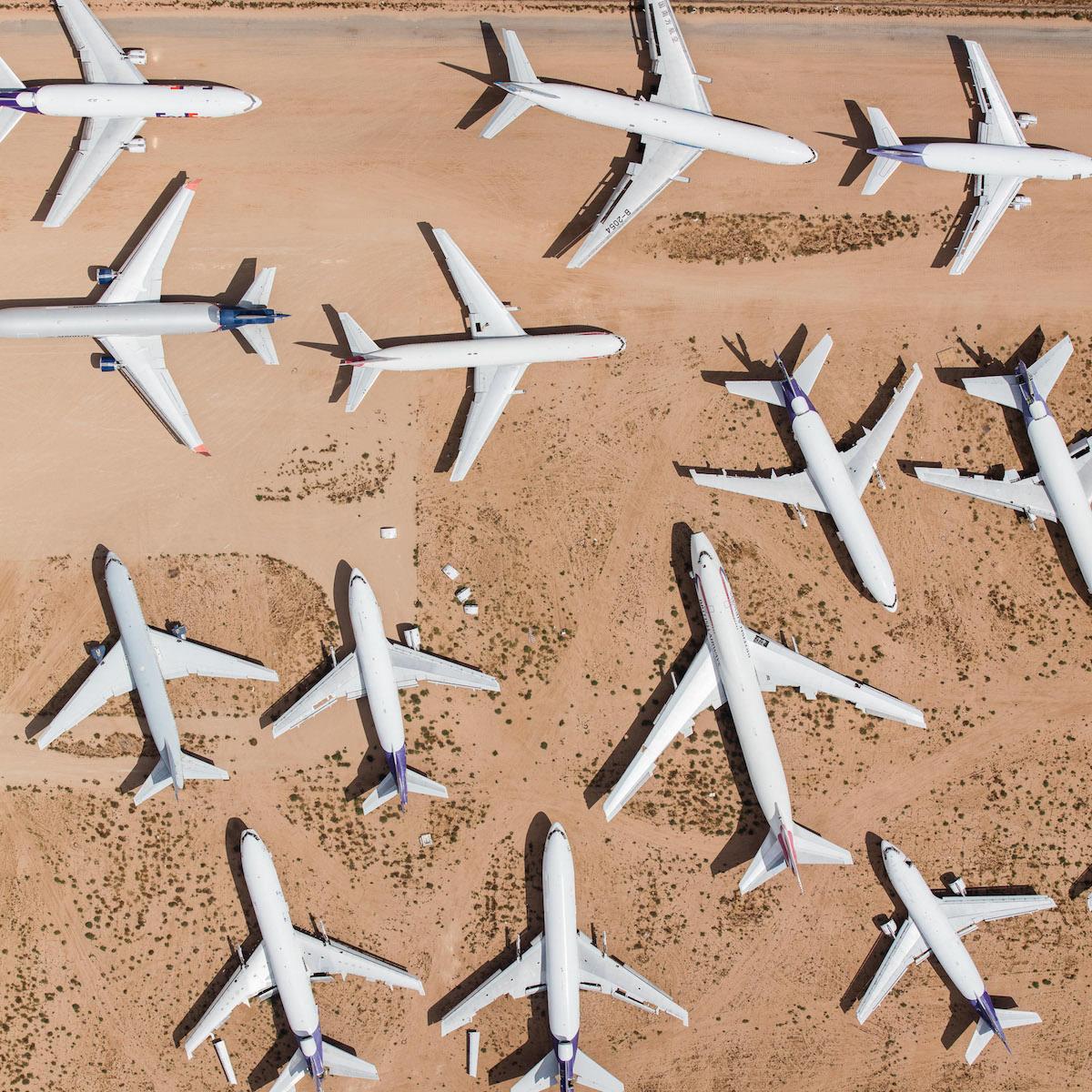 Aerial Aviation Photos - Mike Kelley