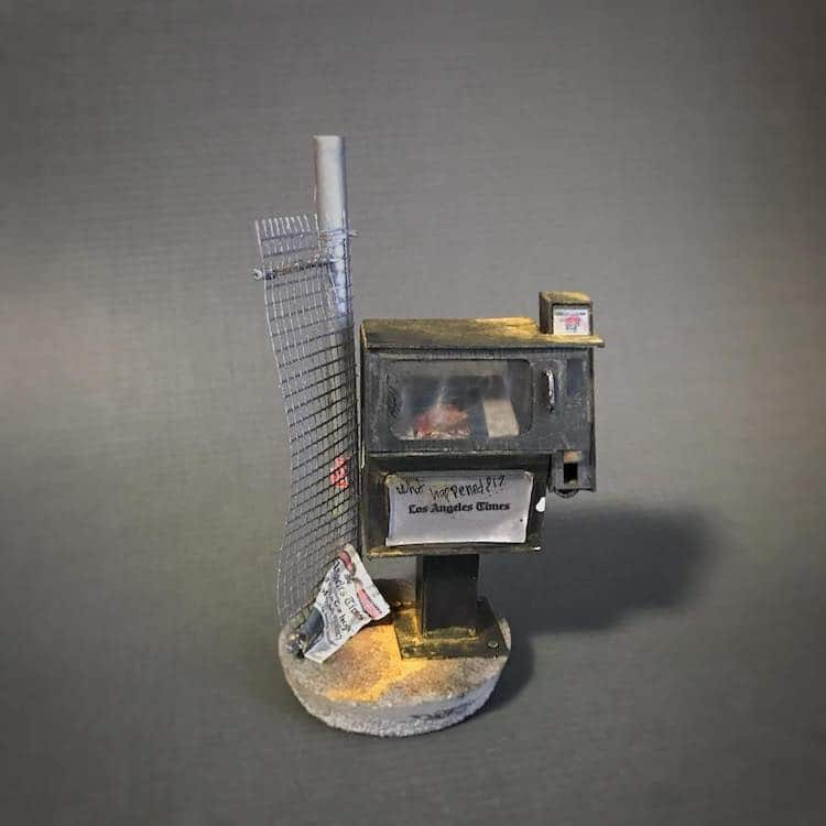 Miniature City Models by Sergio Jauregui