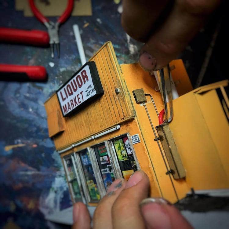 Miniature Models by Sergio Jauregui