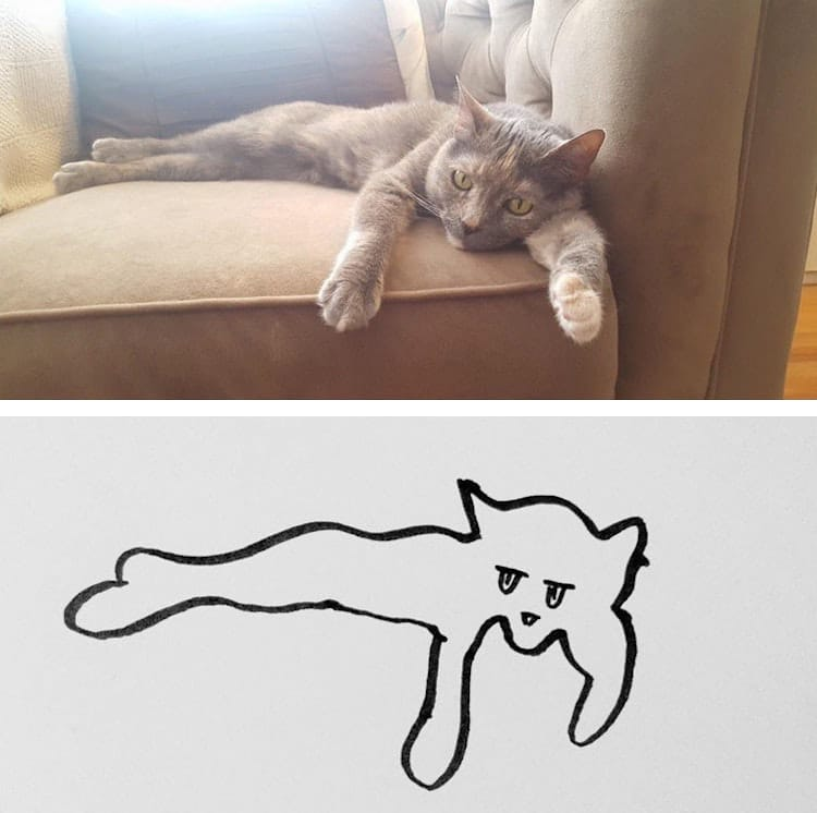 Minimal cat art is a subreddit where people share their for Minimal art reddit