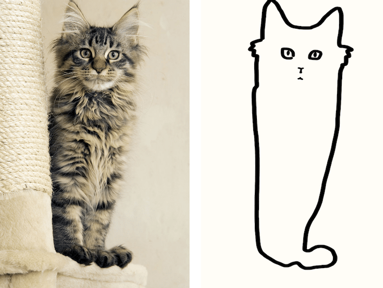 Line Drawing Reddit : Minimal cat art is a subreddit where people share their simple