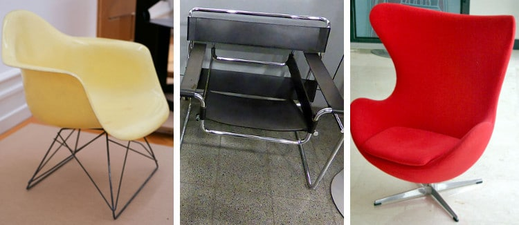 Modern Chairs Iconic Furniture Eames Chair Interior Design