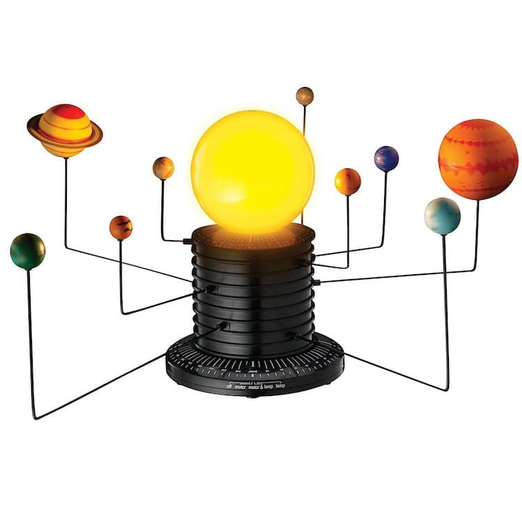 motorized solar system