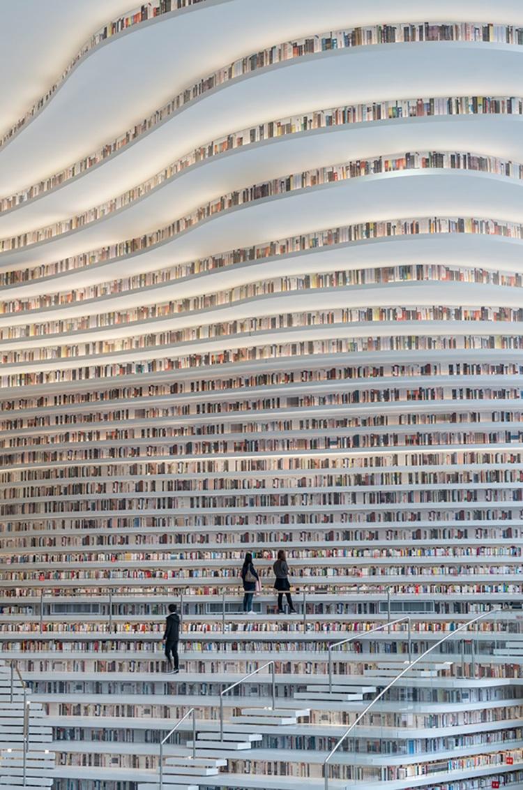 MVRDV tianjin binhai library