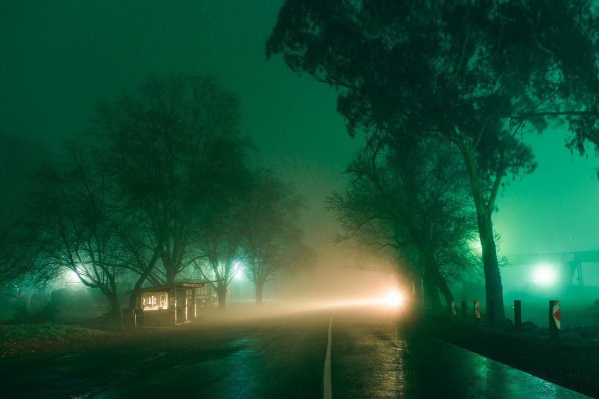 Neon Nightscapes Elsa Bleda
