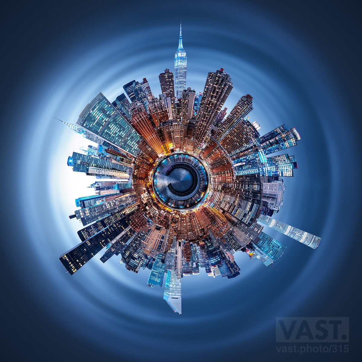 It Took 160 Hours To Create This Stunning 600 Megapixel View Of The Computer Hard Drive Circuit Board Blue Ipad Mini Covers Zazzle Manhattan Skyline My Modern Met Bloglovin