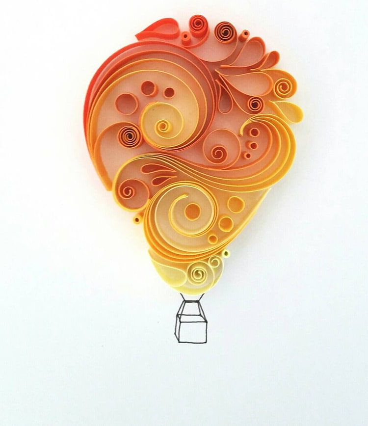 Paper Quilling Illustrations by Meloney Celliers