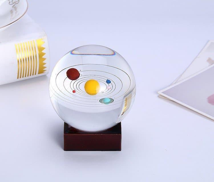 Miniature Solar System Model