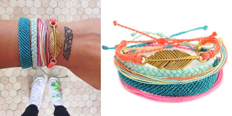 gifts that give back to charity pura vida bracelets
