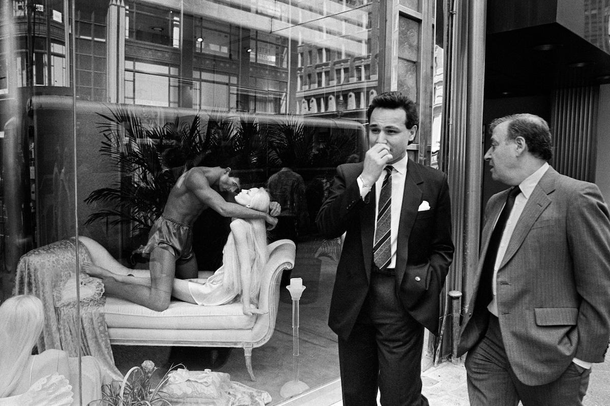 richard sandler photos of new york in the 80s
