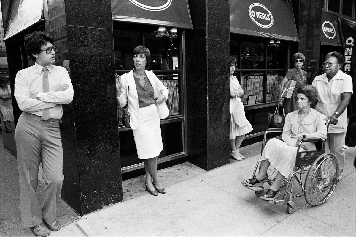 richard sandler black and white street photography