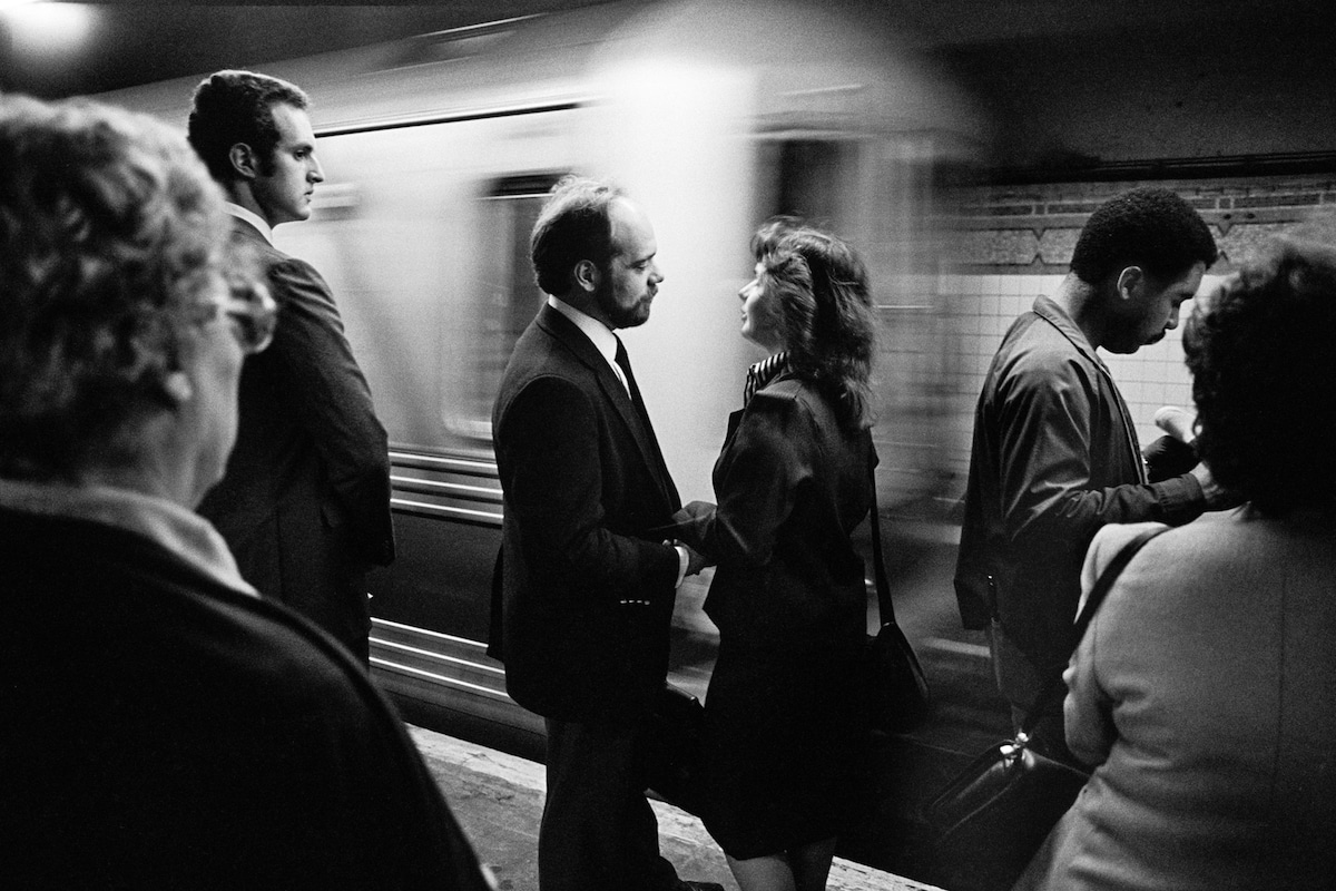 richard sandler nyc subway photography