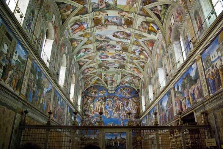 Michelangelo Sistine Chapel Ceiling Sistine Chapel Painting Sistine Chapel Vatican